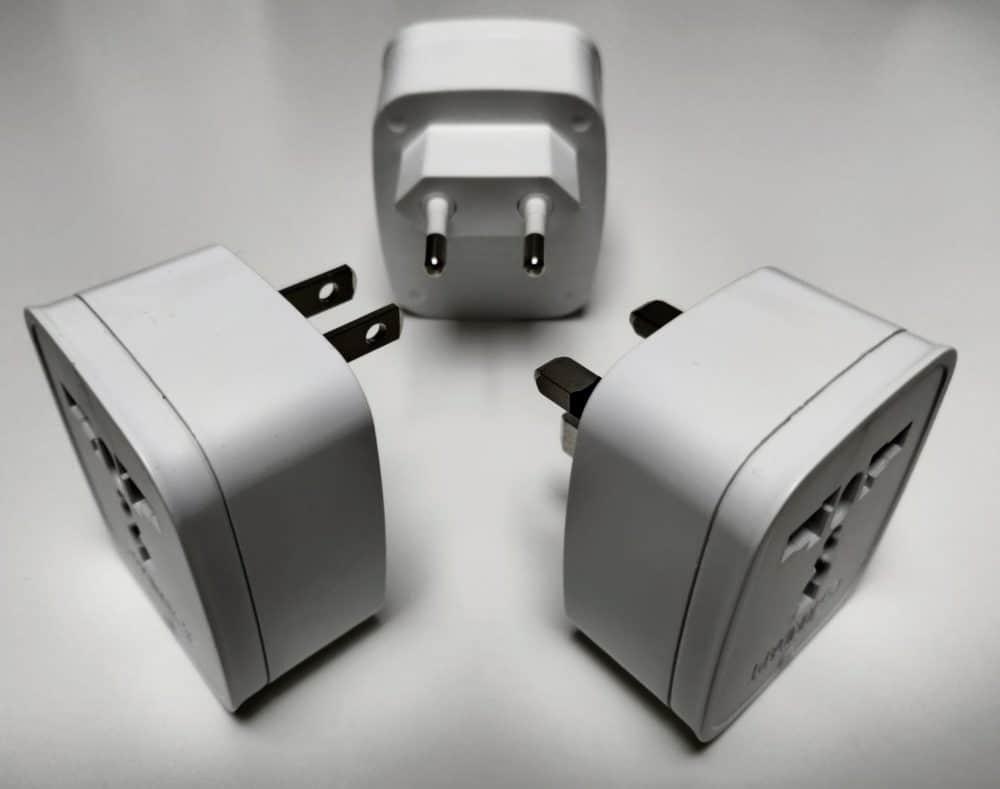 Unidapt adapters x3