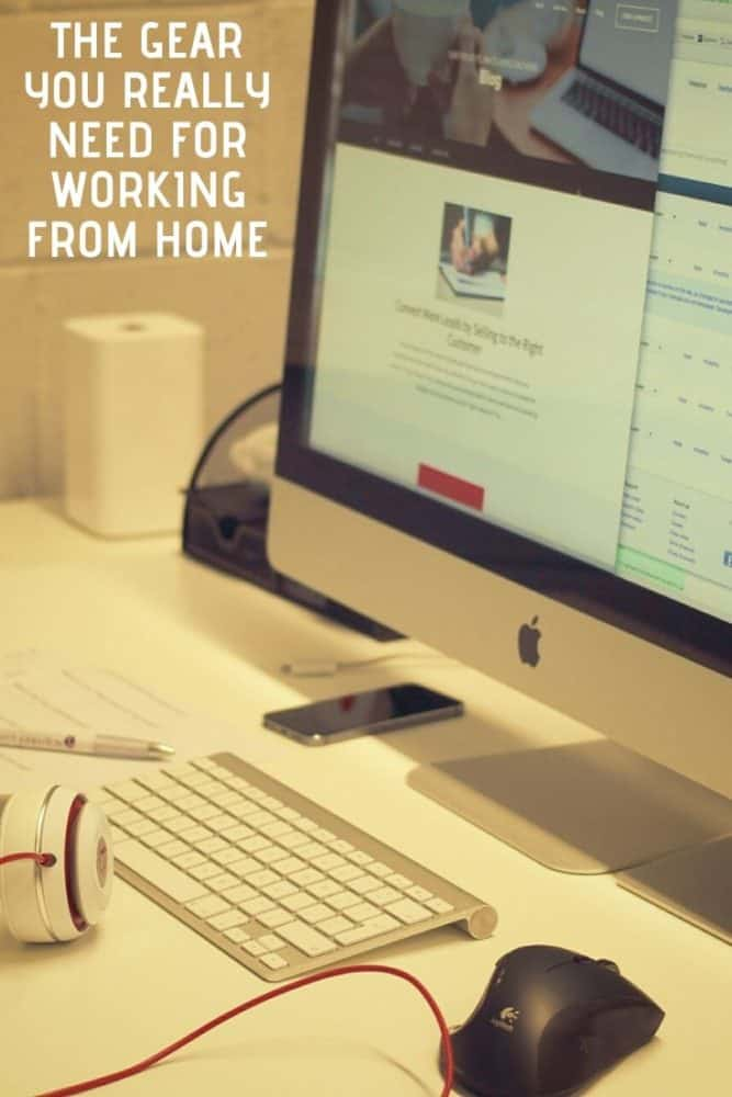 The Gear You Really Need for Working from Home