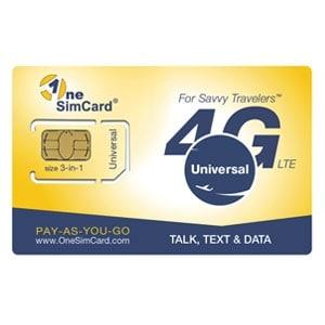 OneSIM SIM card