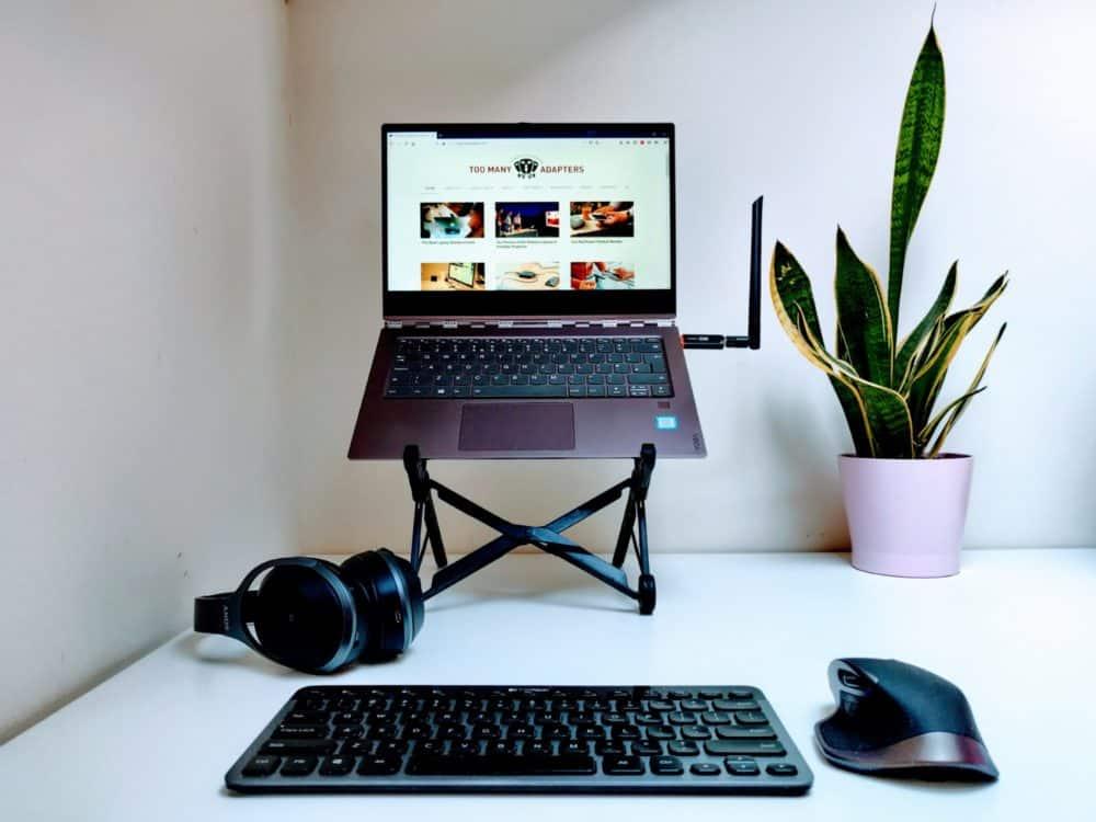 Portable office setup