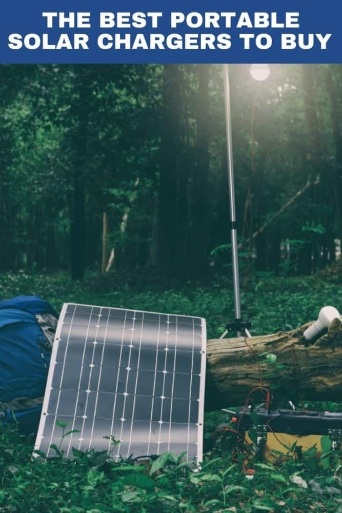 The best portable solar chargers to buy