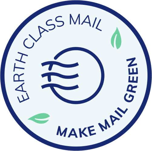 Earth Class Mail badge