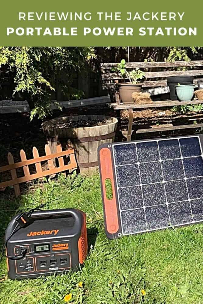Reviewing the Jackery Portable Power Station