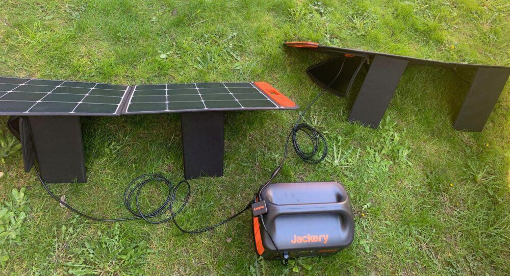 Jackery solar panels and generator